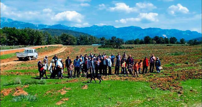 Köylülerin arazi isyanı