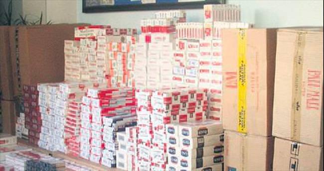Ambarlı Limanı'nda sigara kaçakçılarına büyük darbe
