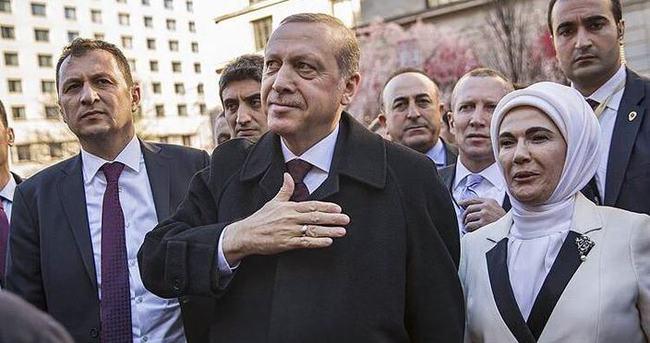Cumhurbaşkanı Erdoğan'ın ABD programı yoğun