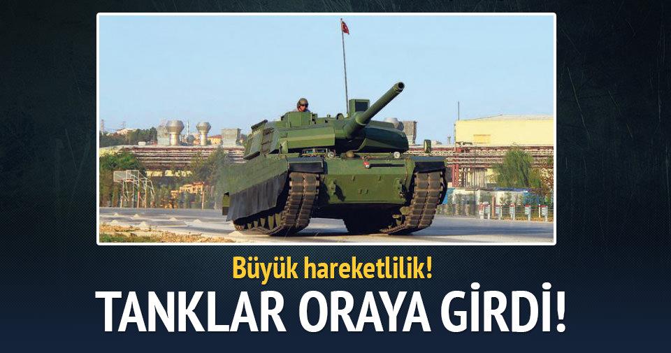 Yüksekova'da tanklar mahalleye girdi