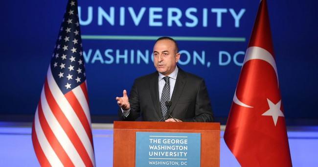 Dışişleri Bakanı Çavuşoğlu:  PYD yüzünden ABD ile küsecek değiliz