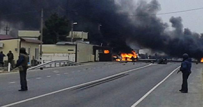 Rusya'da askeri konvoya saldırı: 1 ölü