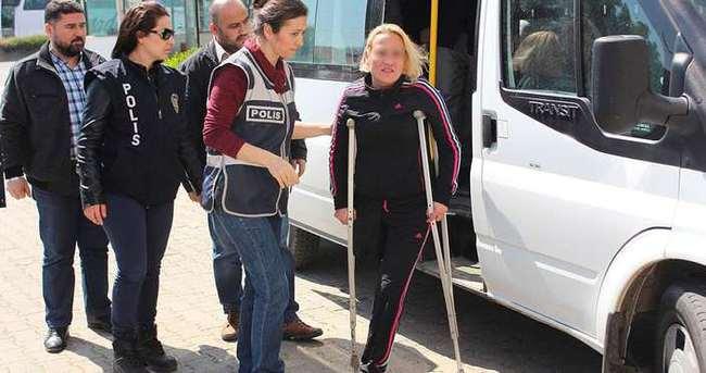 Engelli kadına fuhuş yaptırdılar