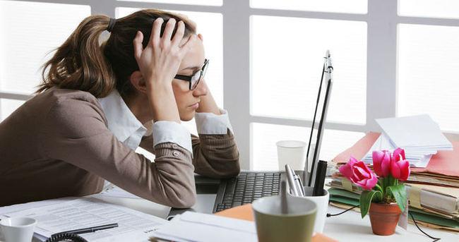 İş hayatında stres fıtık yapıyor