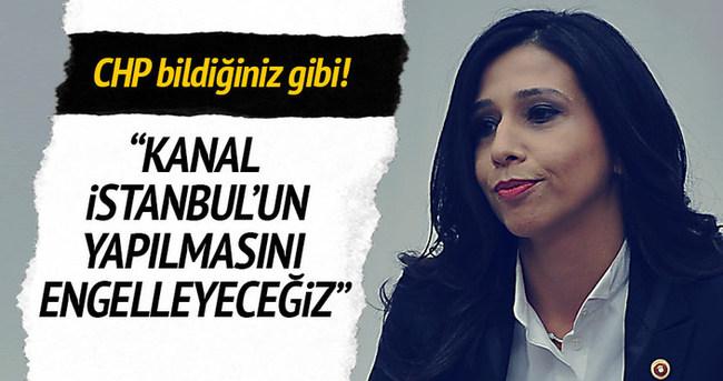 CHP'li vekil Yedekçi: Kanal İstanbul'a izin vermeyeceğiz