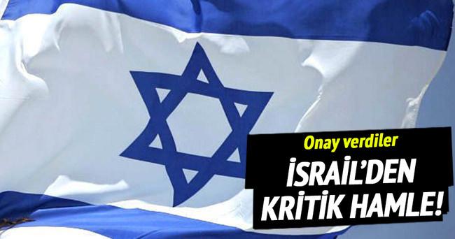 İsrail'den yeni yerleşim birimi onayı