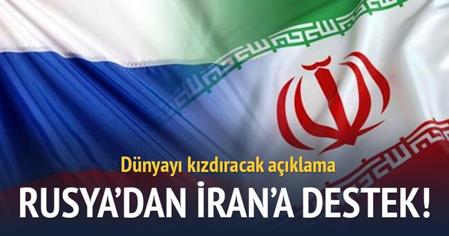 Rusya'dan İran'ın balistik füze denemesine destek