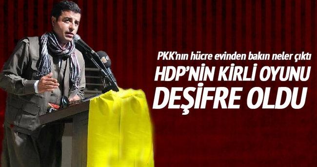 HDP'nin kirli oyunu deşifre oldu