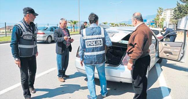 Alanya polisi denetimleri artırdı