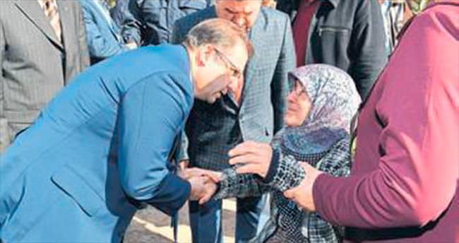 Vali Türker'den taziye ziyareti