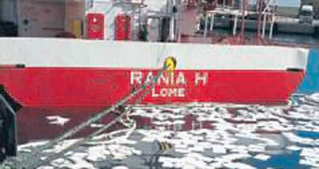 Denizi kirleten gemi affedilmedi