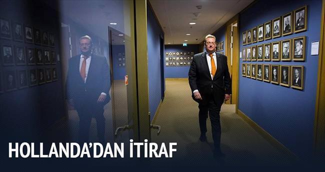 Hollanda: Türkiye'nin uyarısını görmemişiz