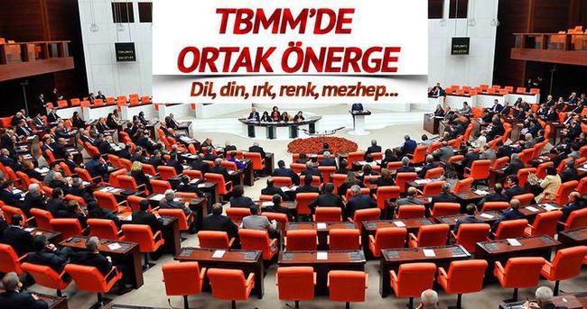 ''Ayrımcılığa karşı'' meclisten ortak önerge