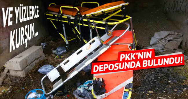 Yüksekova'daki PKK'ya ait çok sayıda tıbbi malzeme ele geçirildi!
