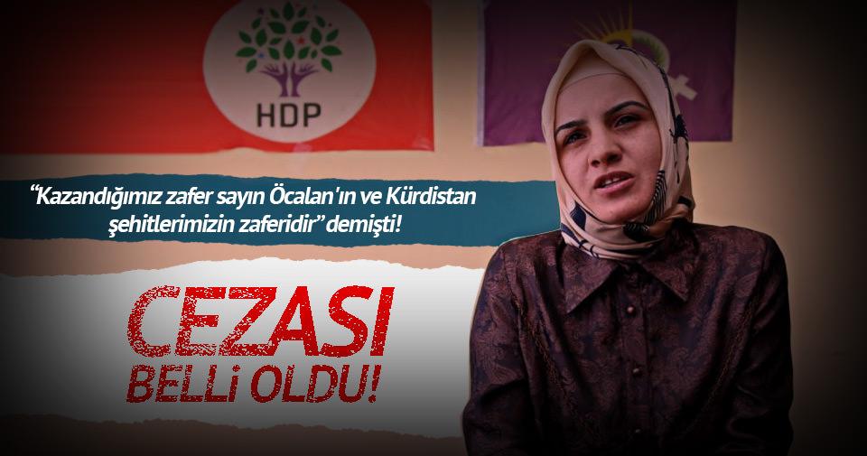 Ceza alan HDP'li eski vekilden skandal ifade