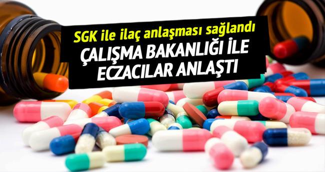 SGK ile ilaç anlaşması sağlandı