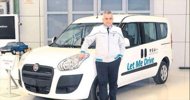 Türkiye'nin ilk sürücüsüz otomobili Doblo oldu
