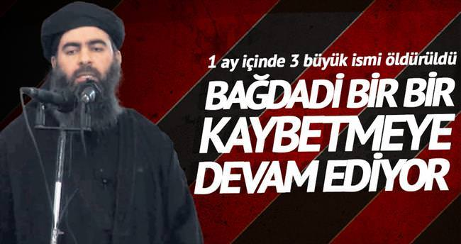 Bağdadi'nin elçisi öldürüldü