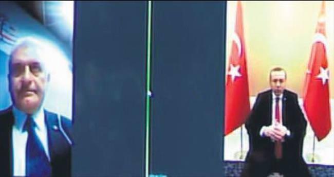 İlk görüşme Erdoğan'dan