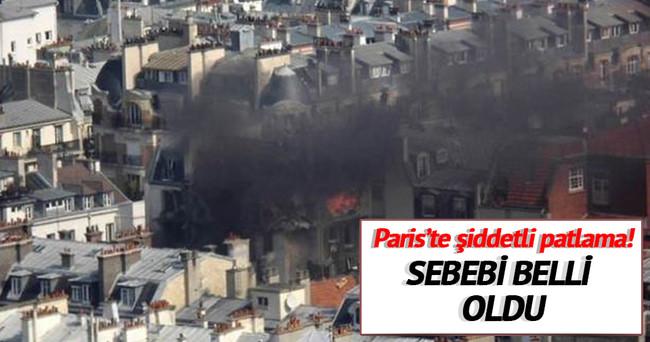 Paris'te patlamanın sebebi belli oldu