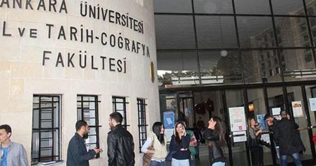 Ankara Üniversitesi Dil Tarih Coğrafya Fakültesi'nde gerginlik