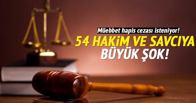 54 hakim ve savcı için iddianame