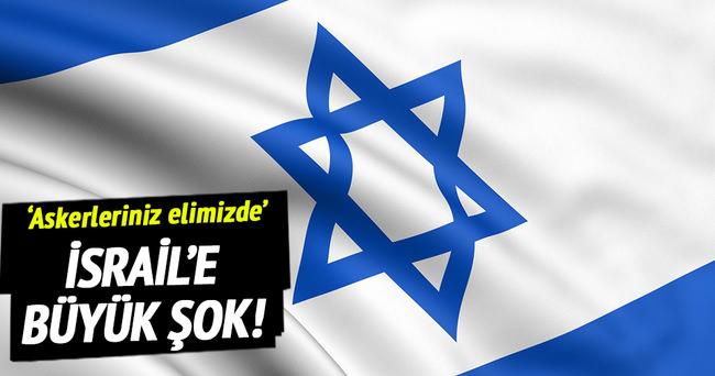 İsrail'e büyük şok!