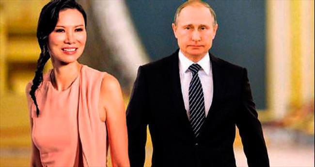 """""""Putin, Murdoch'ın eski eşiyle birlikte"""""""