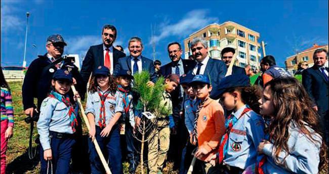 23 Nisan'a 23 bin fidan