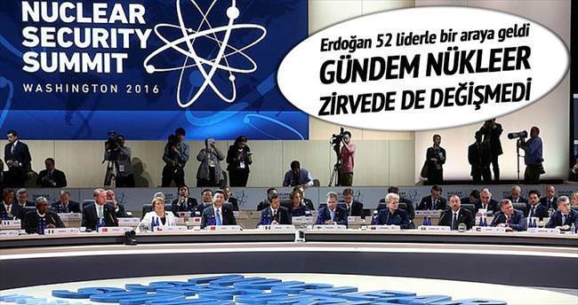 Nükleer zirvede gündem: DAEŞ