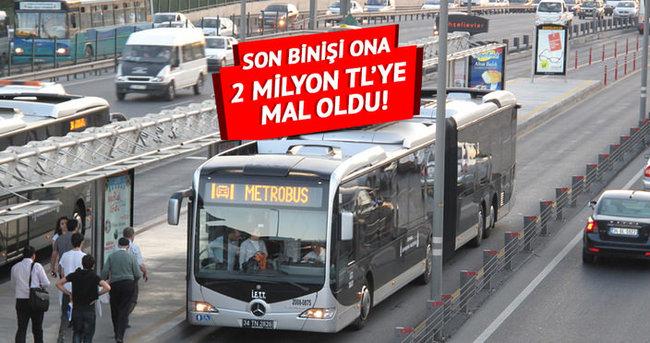 Metrobüsten indi, 2 milyon lirasını kaptırdı!