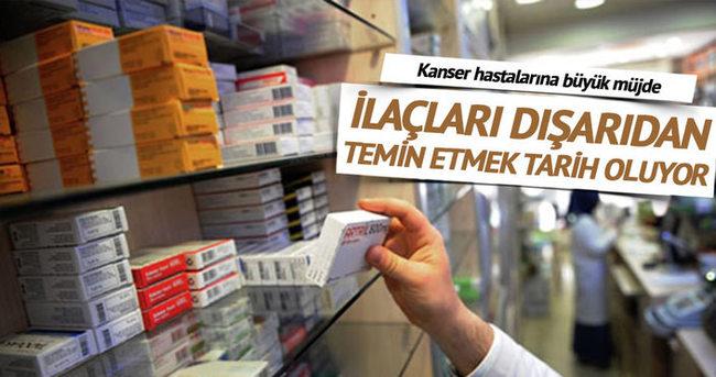 Kanser hastalarının ilaç tedariki kolaylaşıyor