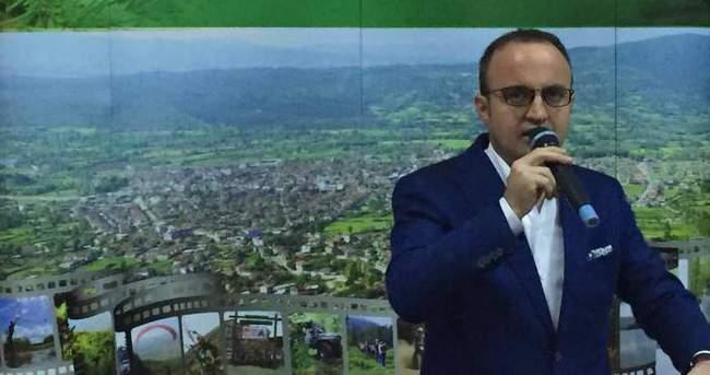 Turan: ''Kaz Dağları oksijen depomuz''