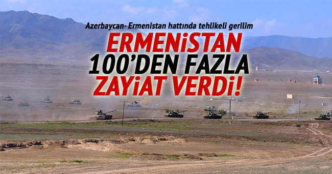 Azerbaycan-Ermenistan hattında tehlikeli gerilim
