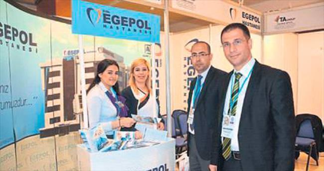 Arap işadamlarına Egepol'ü anlattılar