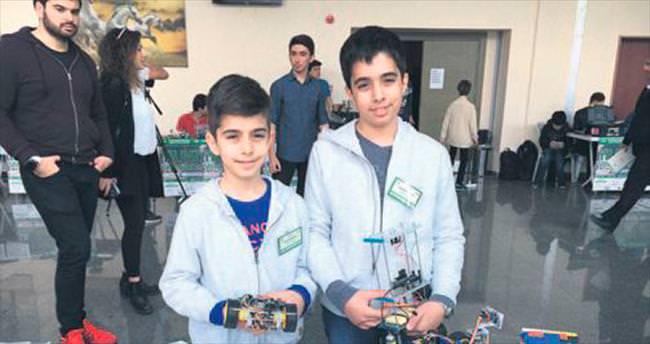Yıldız'da robot yarışması