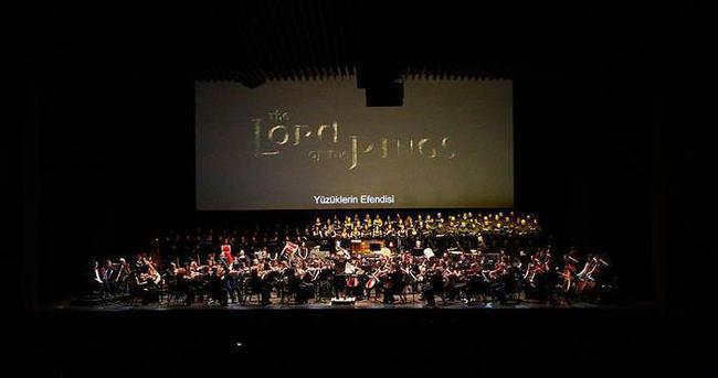 'Yüzüklerin Efendisi' konseri verildi