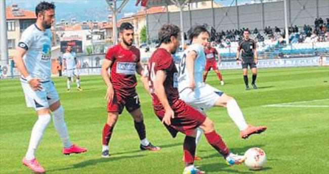 Fethiyespor Hatay'a puan kaptırdı