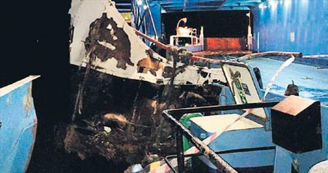 Çanakkale Boğazı'nda kaza