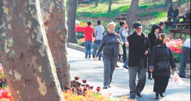 İstanbul'a 20 milyon lale