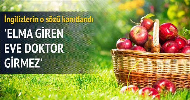 Günde 1 elma ömrü uzatıyor