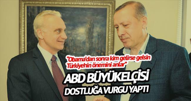 'Türkiye ile ortağız, patron müşteri değil'