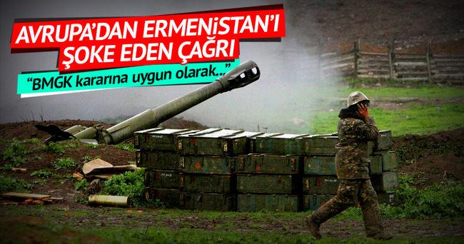 Avrupa'dan Ermenistan'ı şoke eden çağrı