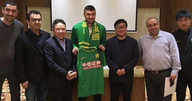 Burak'sız Beijing Guoan golle tanışamadı