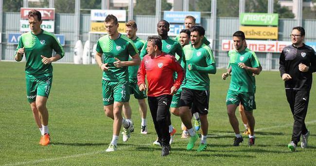 Bursaspor'da Beşiktaş mesaisi