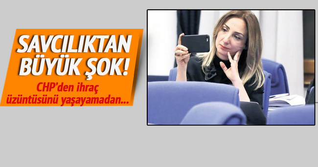 Aylin Nazlıaka'ya fezleke şoku