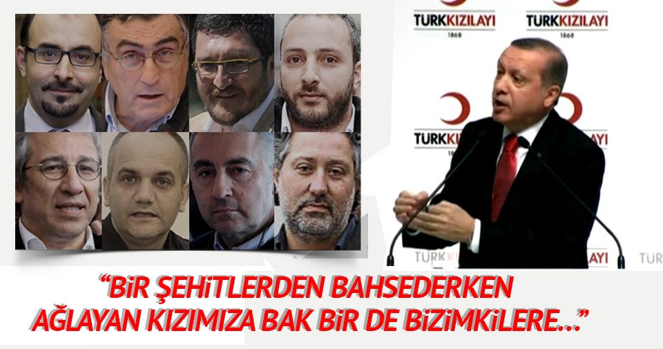 Erdoğan: Bir Azeri kızımıza bakın bir de bizimkilere bakın