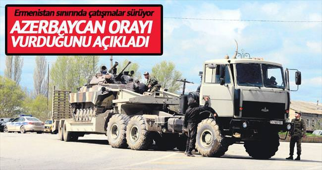 Azerbaycan: Komuta merkezlerini vurduk