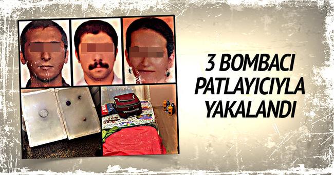 MLKP üyesi 3 bombacı yakalandı