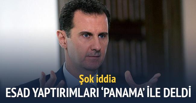 Esad uluslararası yaptırımları Panama'yla deldi